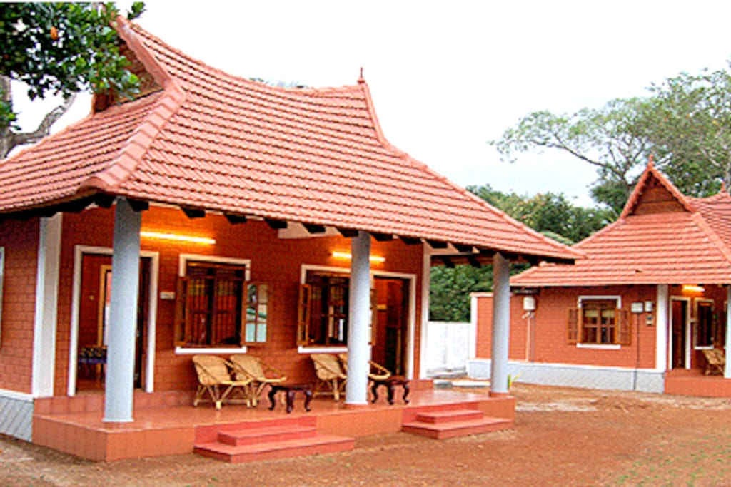 live in traditional brick cottage