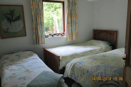 Twin/triple room shared bathroom - East Linton - Bed & Breakfast