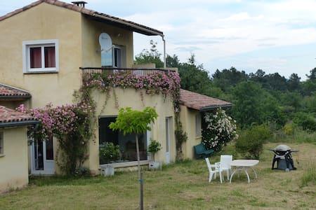 Suite 2 chambres B&B en Sud Ardèche - Ailhon