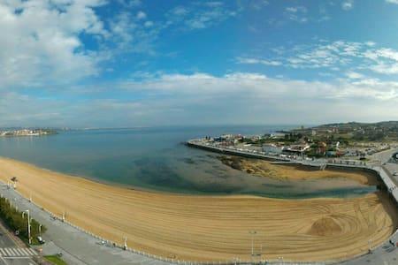 Hermosa vista de la playa S.Lorenzo - Gijón - Apartment