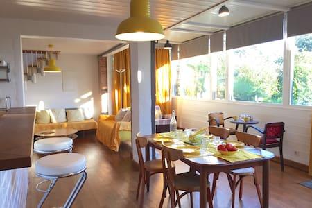 Gîte-Loft Spa et Nature proche Toulouse - Saint-Vincent - Loft