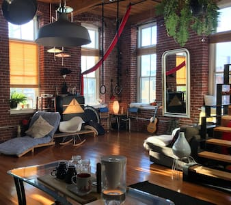 Cozy World Zen Fishtown Loft - Philadelphia - Loft