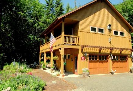 Chimacum Ridge Lodge Mountain Views - Kisház