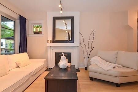 MODERN-LUXURIOUS 1Bed with backyard - Toronto - Apartment