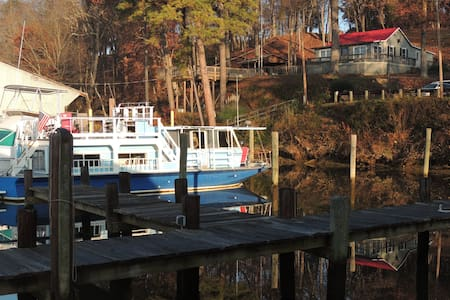 Cozy comfortable houseboat, warm, private and safe - Richmond - Boat