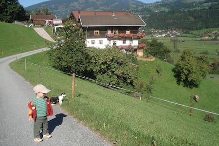 Urlaub am Bergbauernhof mit wunderschöner Aussicht - Lakás