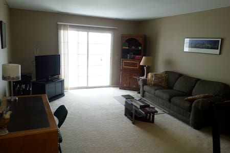 Clean, bright, 3rd floor condo - Apartament