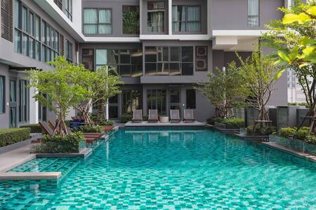 Central in Bangkok 2 Mins to MRT - Bangkok - Condominium