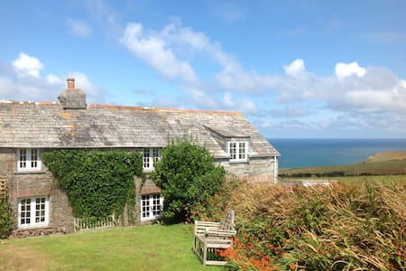 Stunning views, charming cottage. - Port Isaac