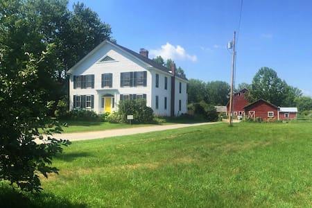 Farm Stay near Middlebury (room 1) - Szoba reggelivel