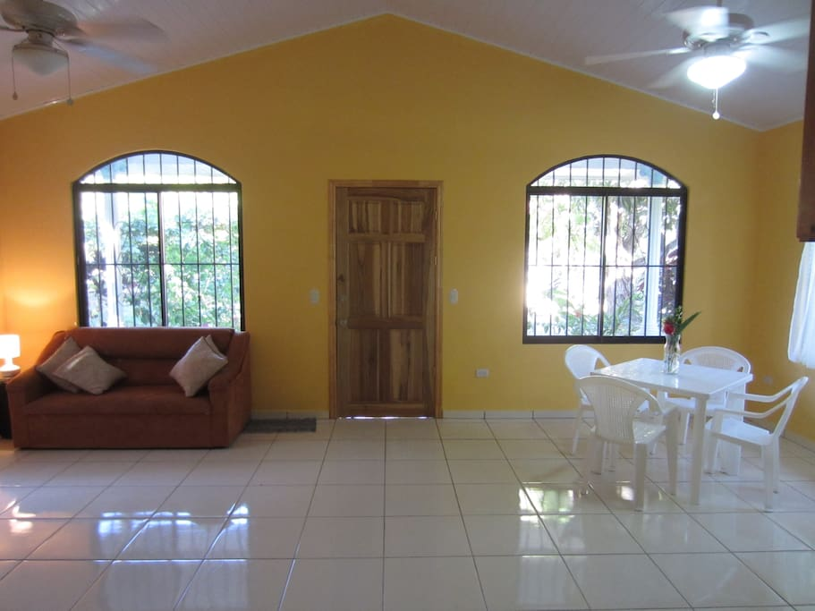 Spacious Living Room and Dinette