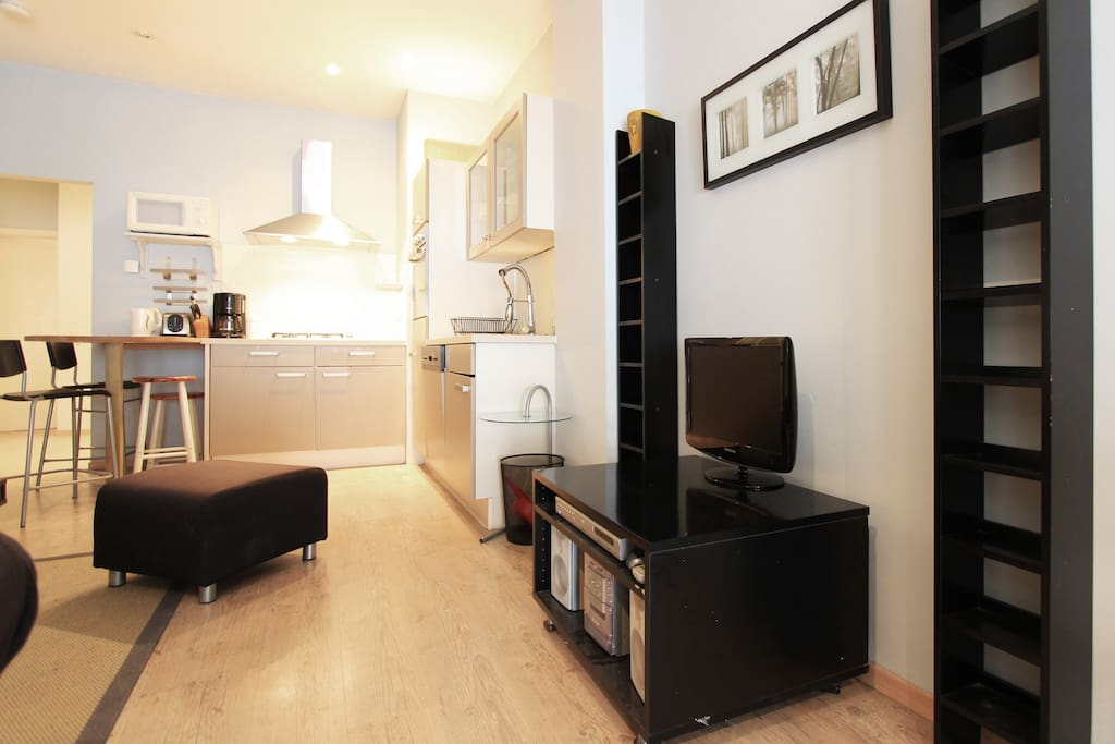 Grand'Place : groundfloor 2BR apart