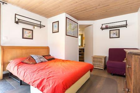 Les Houches cozy room near ski lift