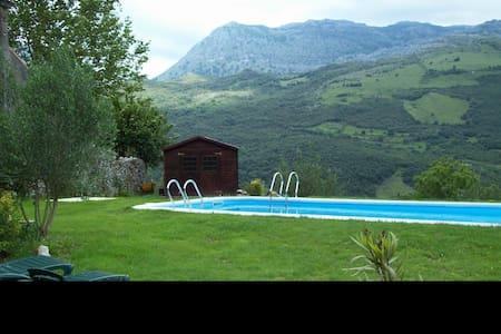 Habitación doble con baño privado - Mentera-Barruelo - Outros