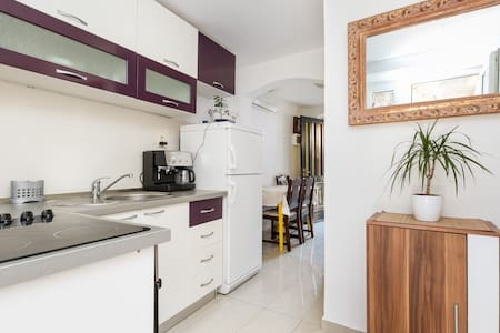 Welcome! We offer a 1+1* bedroom apartment (485 sq.ft) on a 300 year old estate. Our location in the heart of Split, a walk down the street from the palace. WiFi, washer. Air conditioning (cooling/heating) additional fee for off season dates.