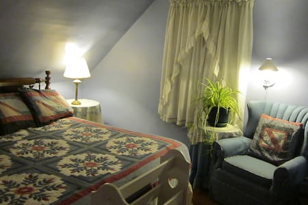 KING: the Airy, Comfy WILDFLOWER ROOM - Phippsburg - Wikt i opierunek
