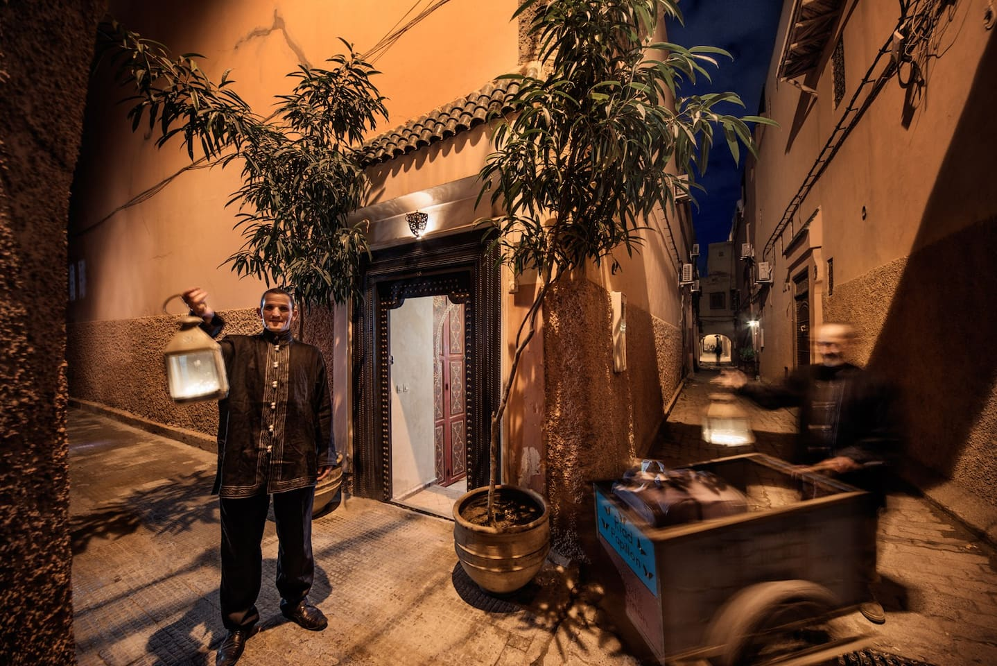 Dar Habiba, a traditional Riad in the heart of Marrakech, Medina