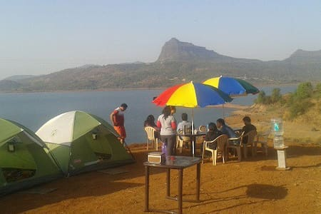 Camping at Pawana lake - Pawna Lake