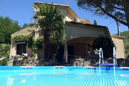 Villa Le Pont, 6p. Vakantievilla - Darbres