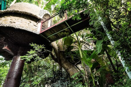 Tropical Paradise Tree House - Famous Homestay - Ngọc Thụy - Treehouse