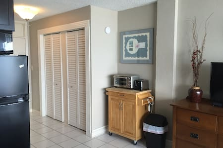 Oceanfront Studio Condo Daytona Bch - Daytona Beach - Appartement en résidence