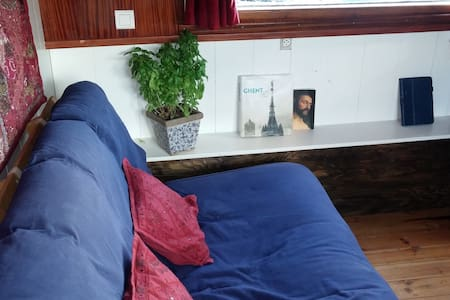 Captains Quarters on Houseboat- central location - Ghent - Boat
