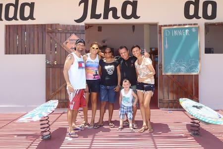 Ilha do Guajiru kitesurf paradise, near Itarema. - Bed & Breakfast