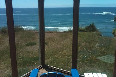 Ocean Front  Surf Shack w/Hot Tub - Otter Rock - Cabin
