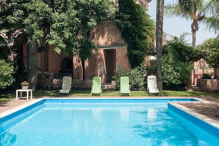 Villa Limoni(Farm,Etna,Sicily,pool) - Riposto