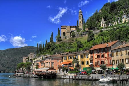 Relaxing stay on Lugano lake - Morcote
