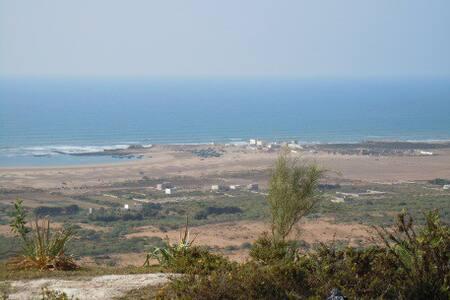 Villa Nord d'Essaouira sur plage - Oum el Aioun - Dom