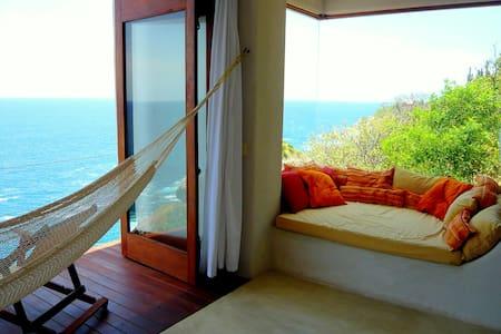 Seafront loft & Pool Puerto Angel - Villa