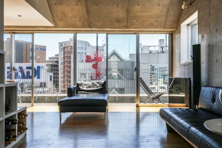 Penthouse in the Midst of Tokyo - Shibuya - Apartment