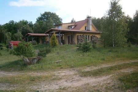 Dom nad jeziorem Marąg - Talo