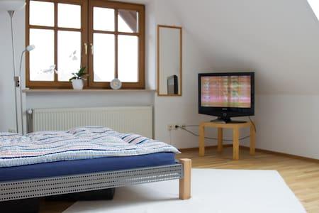Landshut, Bavaria, sunny room - Rumah