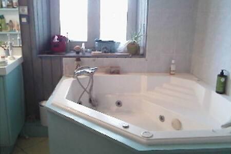 Chambre et salle/bain Centre ville  - Mâcon - Apartament