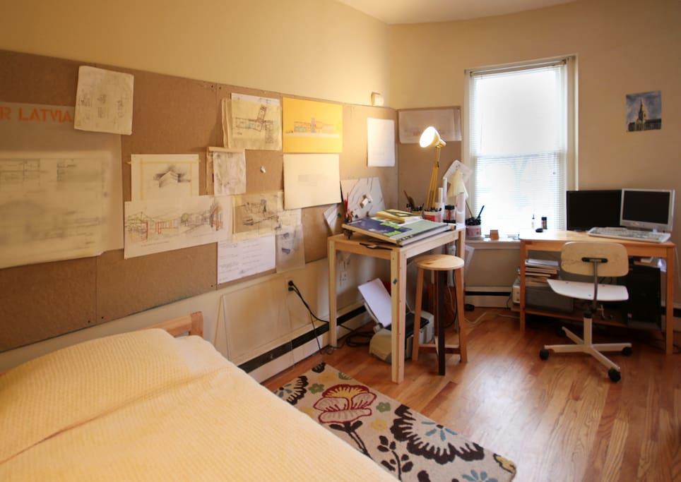 Architects Live-in Studio in Boston