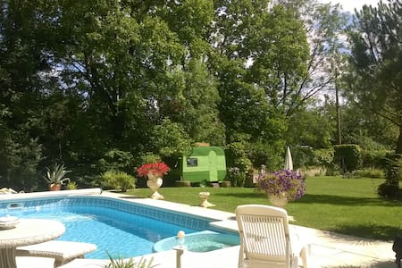 Charming caravan - Riorges - Bed & Breakfast