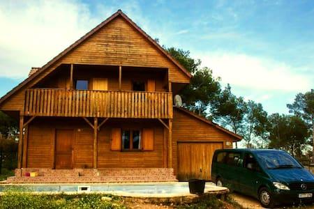 Rural rent / Ecological rural House - Mas del Plata, Cabra del camp - Casa