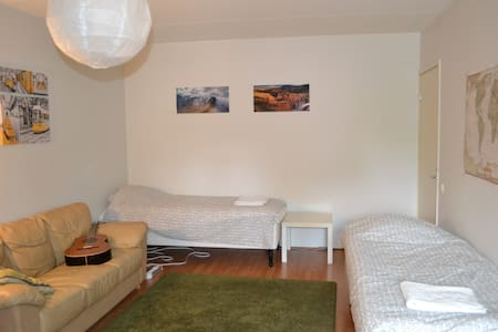 Clean room with ease of access to the airport - Appartement