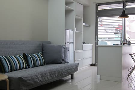 Your home in Taipei! Comfy new 2rm apt. MRT Donghu - Apartment