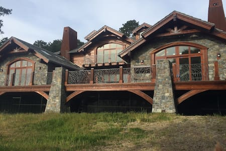 Pacific Ocean Mountain Home- Near Ano Nuevo Island - Пескадеро - Вилла