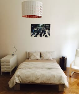 Spacious Room w. French Balcony - Appartement