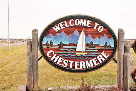 Chestermere is a located 15 minutes from Calgary, just off of the Trans Canada Highway.   It is conveniently located close to major highways heading n/w/s/e.  I offer tour planning services, can make recommendations and answer any questions.
