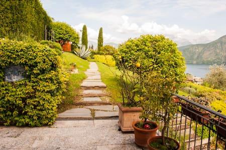 """""""Villa Abbraccio Garden"""" Lake Como Panoramic View - Lenno"""