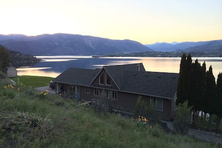 Private Lake Chelan View near Karma Vineyard - Chelan - House