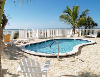 Sunset Villas Beach Front Unit #1 - Redington Shores - Condominium