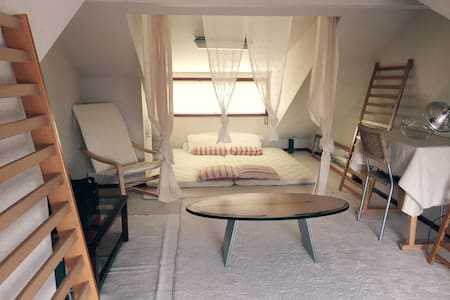 NEW spacious loft - very trendy, central location! - Setagaya-ku - Haus