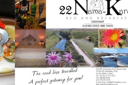 22 Nama-Karoo Bed & Breakfast CC - Olifants River Settlement - Lägenhet