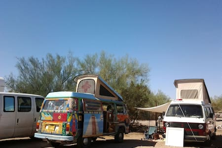 Slab City Hostel - Parking Space - slab city - Egyéb